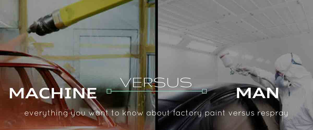Factory Paint vs Respray